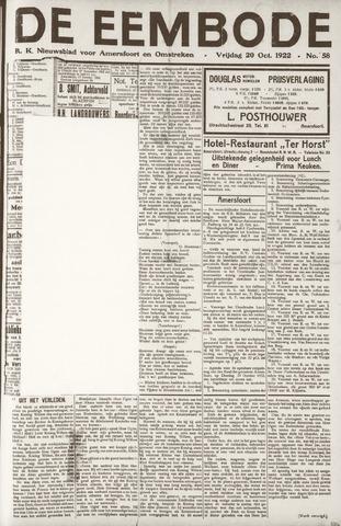 De Eembode 1922-10-20