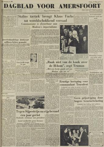 Dagblad voor Amersfoort 1950-02-10