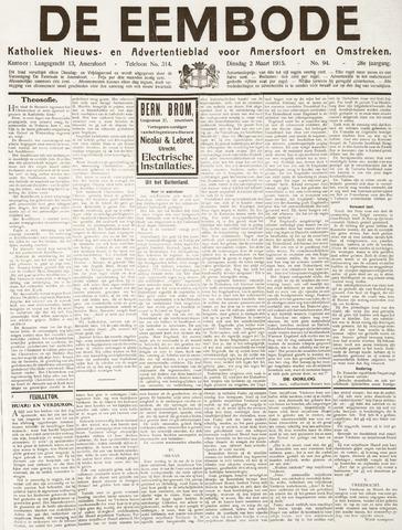 De Eembode 1915-03-02