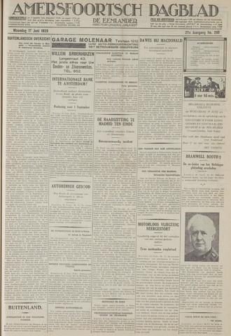 Amersfoortsch Dagblad / De Eemlander 1929-06-17