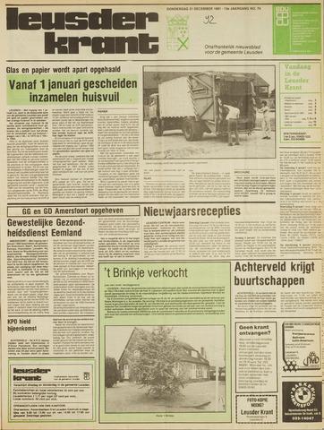 Leusder Krant 1981-12-31