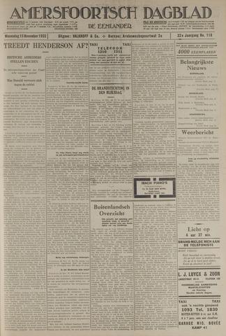 Amersfoortsch Dagblad / De Eemlander 1933-11-15