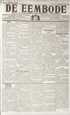 De Eembode 1913-08-26
