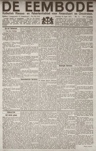 De Eembode 1917-04-10
