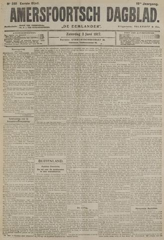 Amersfoortsch Dagblad / De Eemlander 1917-06-02