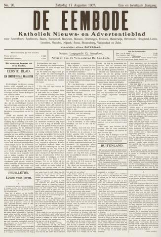 De Eembode 1907-08-17