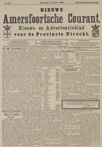 Nieuwe Amersfoortsche Courant 1909-10-27