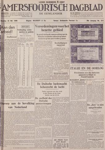 Amersfoortsch Dagblad / De Eemlander 1940-05-20