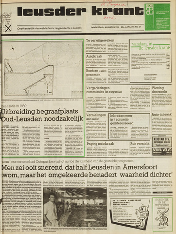 Leusder Krant 1988-08-04