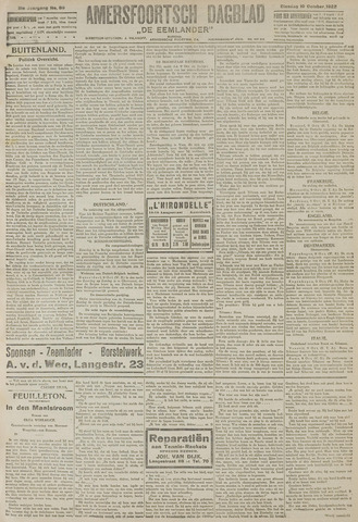 Amersfoortsch Dagblad / De Eemlander 1922-10-10