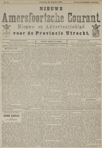Nieuwe Amersfoortsche Courant 1898-01-22
