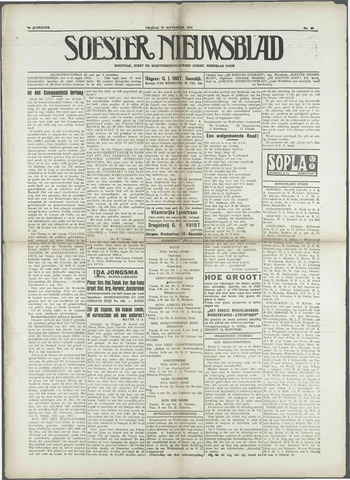 Soester Courant 1933-09-29