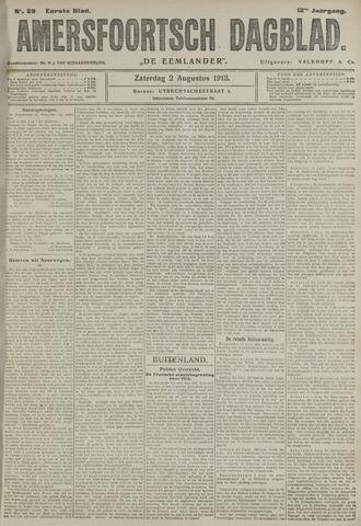 Amersfoortsch Dagblad / De Eemlander 1913-08-02