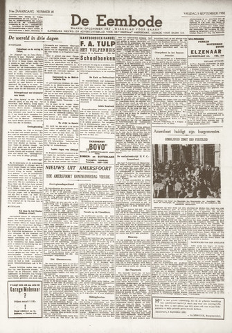 De Eembode 1937-09-03