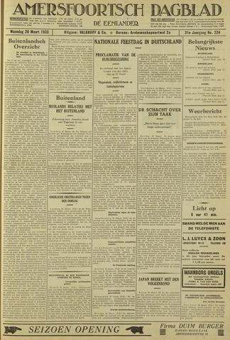 Amersfoortsch Dagblad / De Eemlander 1933-03-20