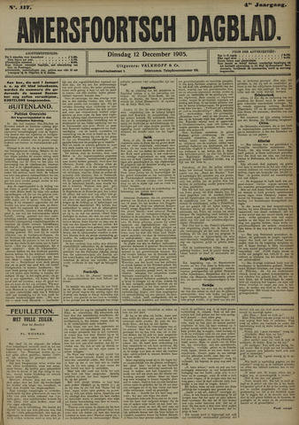 Amersfoortsch Dagblad 1905-12-12