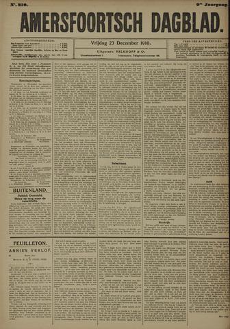 Amersfoortsch Dagblad 1910-12-23