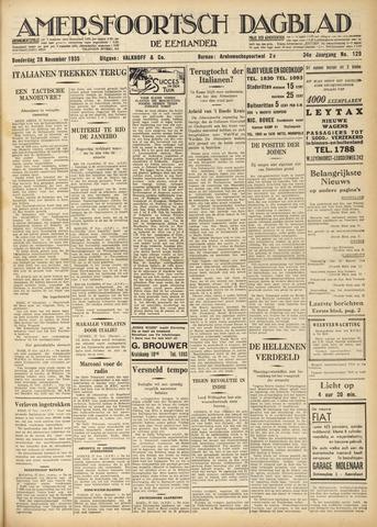 Amersfoortsch Dagblad / De Eemlander 1935-11-28