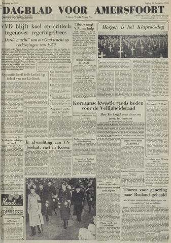Dagblad voor Amersfoort 1950-11-10