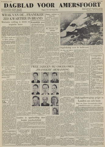 Dagblad voor Amersfoort 1949-07-13