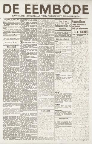De Eembode 1920-11-26