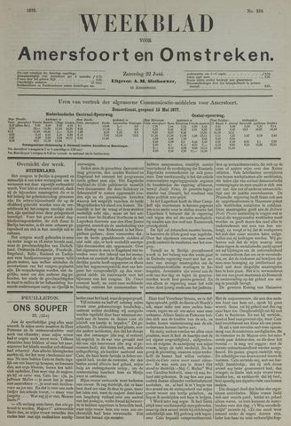 Weekblad voor Amersfoort en Omstreken 1878-06-22
