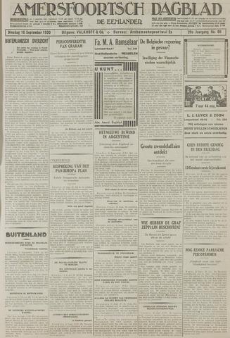 Amersfoortsch Dagblad / De Eemlander 1930-09-16