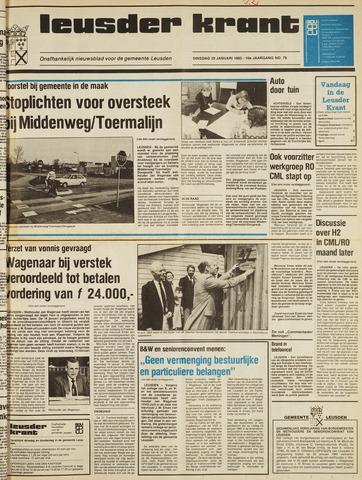 Leusder Krant 1985-01-29