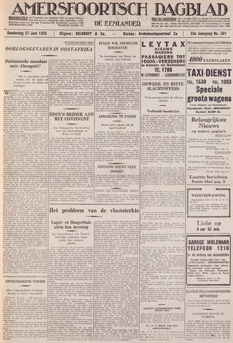 Amersfoortsch Dagblad / De Eemlander 1935-06-27