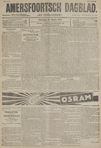 Amersfoortsch Dagblad / De Eemlander 1917-03-13