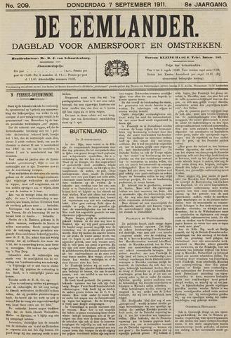 De Eemlander 1911-09-07