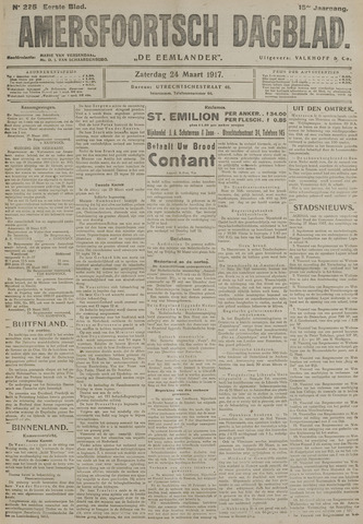 Amersfoortsch Dagblad / De Eemlander 1917-03-24