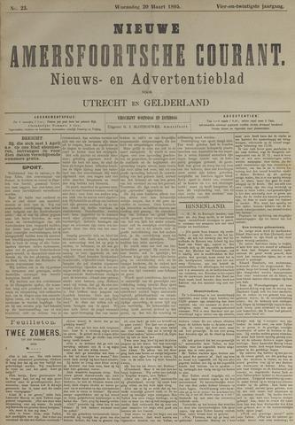 Nieuwe Amersfoortsche Courant 1895-03-20