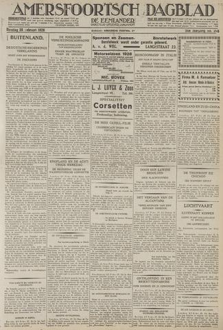 Amersfoortsch Dagblad / De Eemlander 1928-02-28