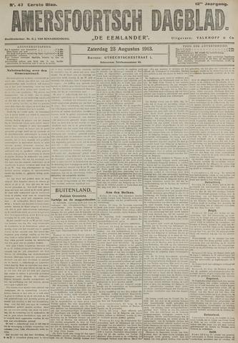 Amersfoortsch Dagblad / De Eemlander 1913-08-23