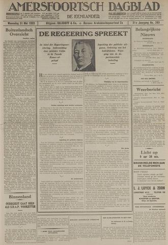 Amersfoortsch Dagblad / De Eemlander 1933-05-31