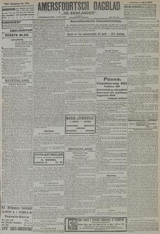 Amersfoortsch Dagblad / De Eemlander 1922-04-08