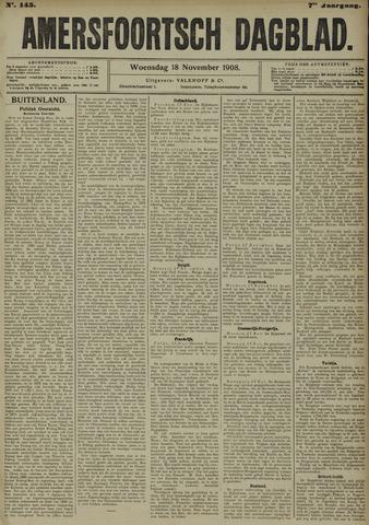 Amersfoortsch Dagblad 1908-11-18