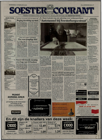 Soester Courant 2003-02-19