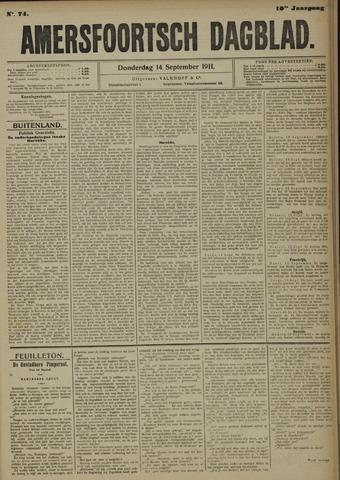 Amersfoortsch Dagblad 1911-09-14