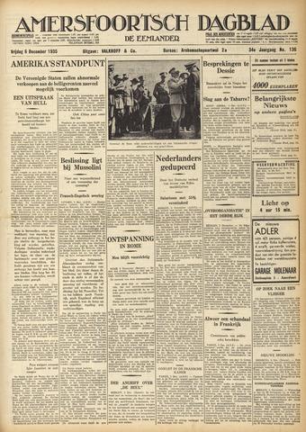Amersfoortsch Dagblad / De Eemlander 1935-12-06