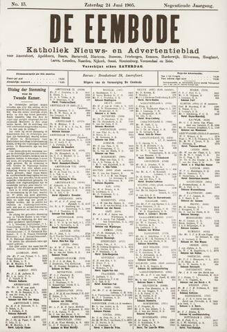 De Eembode 1905-06-24