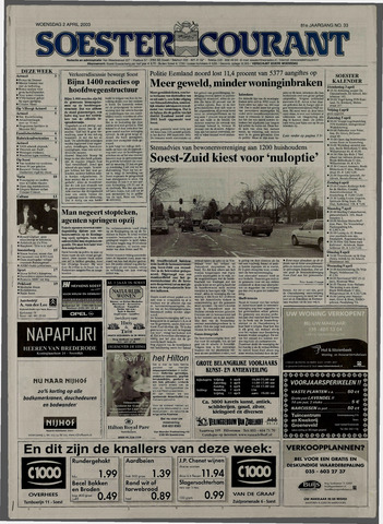 Soester Courant 2003-04-02