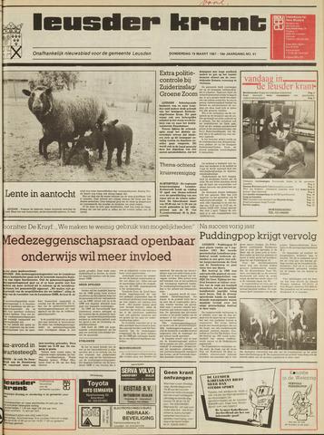 Leusder Krant 1987-03-19