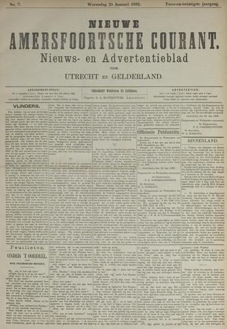 Nieuwe Amersfoortsche Courant 1893-01-25