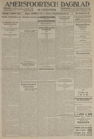 Amersfoortsch Dagblad / De Eemlander 1933-10-11