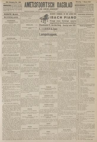 Amersfoortsch Dagblad / De Eemlander 1927-03-01