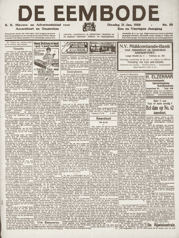 De Eembode 1928-01-31