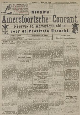 Nieuwe Amersfoortsche Courant 1917-02-21