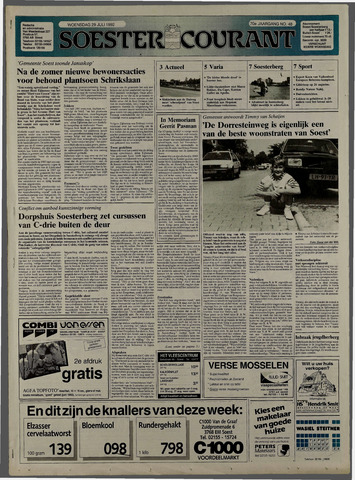 Soester Courant 1992-07-29